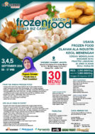Training Usaha Frozen Food, 3,4, dan 5 September 2018