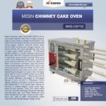 Mesin Chimney Cake Oven MKS-CMY16