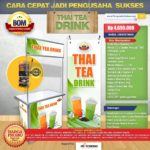 Paket Usaha Thai Tea Drink Program BOM