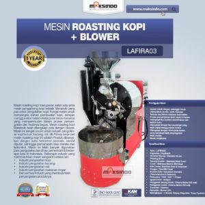 Mesin Roasting Kopi + Blower LAFIRA03