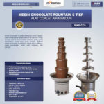 Mesin Chocolate Fountain 6 Tier (MKS-CC6)