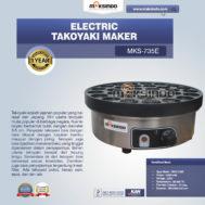 Electric Takoyaki Maker MKS-735E