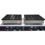 Listrik Waffle Bentuk Hati 50 Lubang MKS-HSW50E