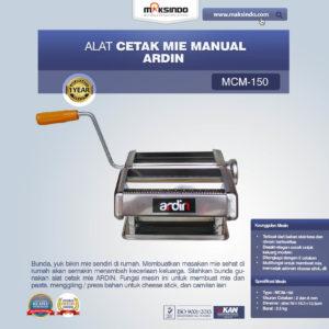 Cetakan Mie Manual Rumah Tangga ARDIN
