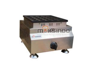 Gas Waffle Bentuk Hati 25 Lubang MKS-HSW25G