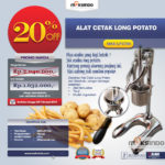 Alat Cetak Long Potato MKS-LPCT50