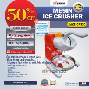 Mesin Ice Crusher MKS-CRS30