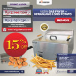 Mesin Gas Fryer MKS-G20L + Keranjang