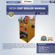Mesin Cup Sealer Manual NEW CPS-818