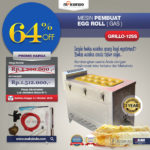 Mesin Pembuat Egg Roll (Gas) GRILLO-12SS