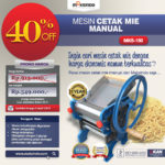 Cetak Mie Manual Untuk Usaha (MKS-150B)