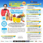 Training Usaha Ice Cream Dan Topping, Sabtu 21 April 2019