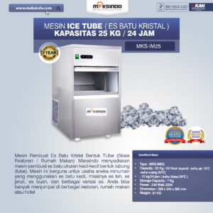 Mesin Ice Tube (Es Batu Kristal)