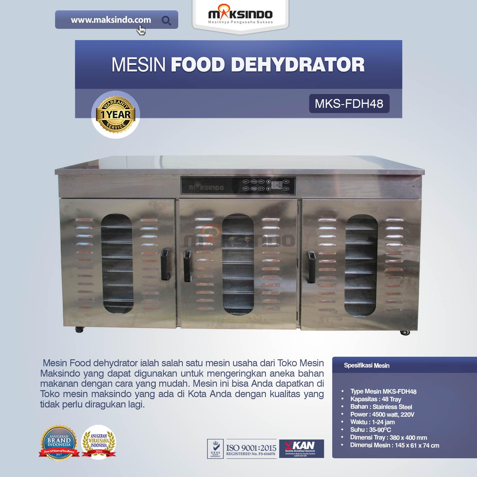 Food Dehydrator MKS-FDH48