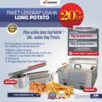 Paket Mesin Long Potato Kentang Panjang