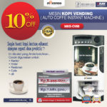 Mesin Kopi Instant (Auto Coffee Instant Machine)