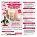 Training Sukses Aneka Minuman Untuk Usaha, 28 September 2019