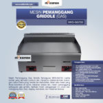 Mesin Pemanggang Griddle (Gas) MKS-GG720