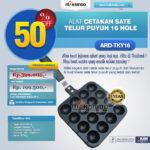 Alat Cetakan Sate Telur Puyuh 16 Hole Ardin TKY-16