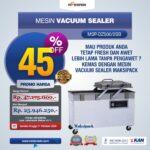 Mesin Vacuum Sealer (DZ500/2SB)