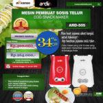 Mesin Sosis Telur 2 Lubang ARDIN ARD-505