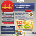 Mesin Pembuat Egg Roll (Gas) MKS-ERG002