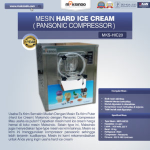 Mesin Hard Ice Cream (HIC20)