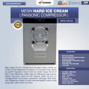 Mesin Hard Ice Cream (HIC22)