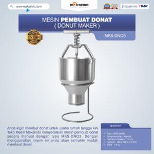 Mesin Pembuat Donat (Donut Maker) MKS-DN03