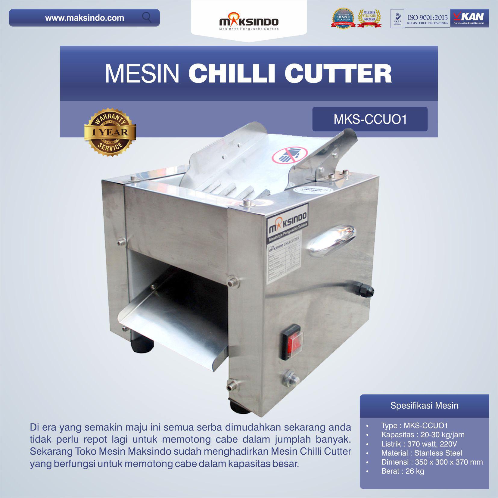 Mesin Chilli Cutter MKS-CCU01