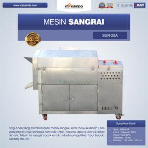Mesin Sangrai SGR-25A