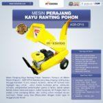 Mesin Perajang Kayu Ranting Pohon – AGR-CP15