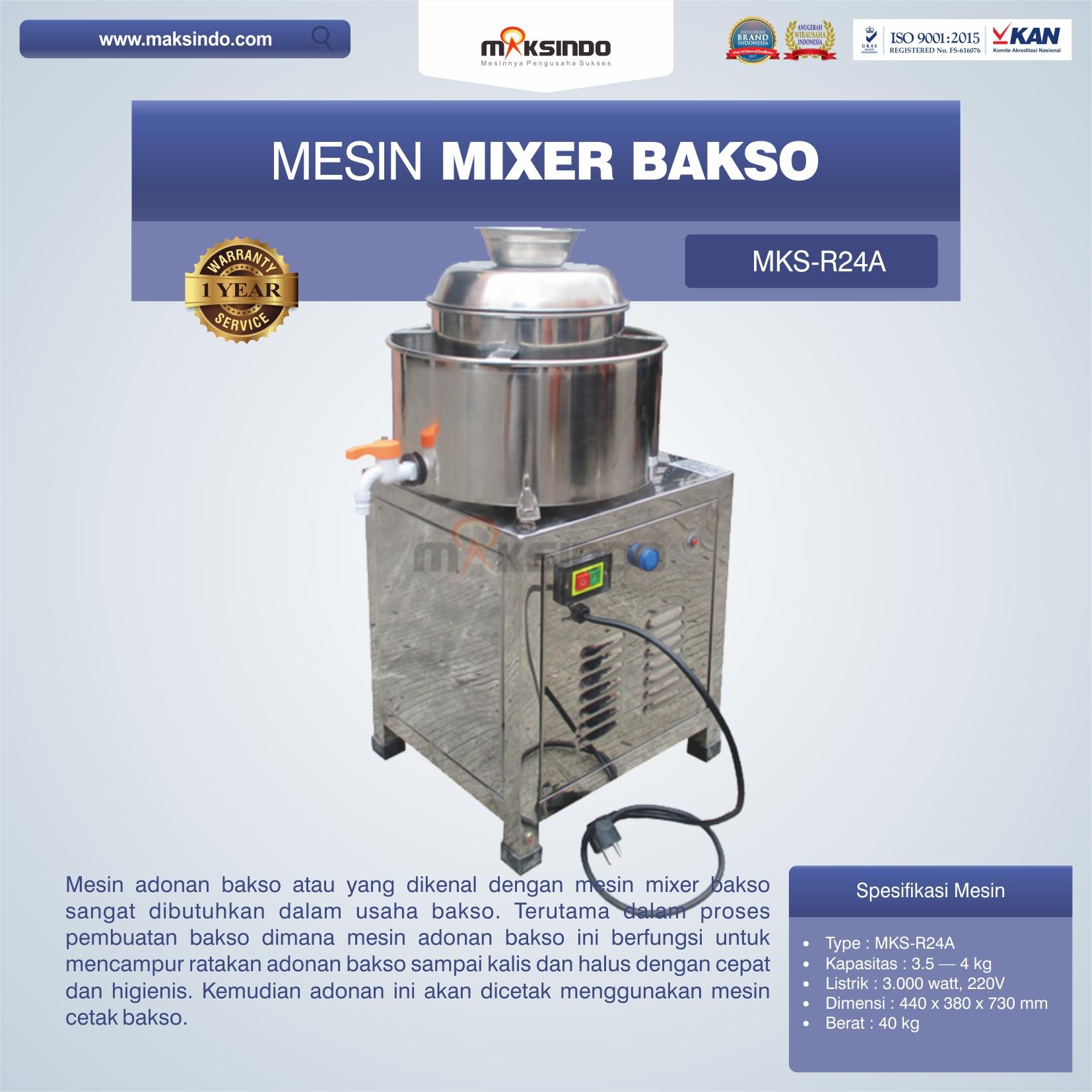 Mesin Mixer Bakso MKS-R24A