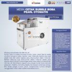 Mesin Cetak Bubble Boba Pearl Otomatis MKS-TPC504