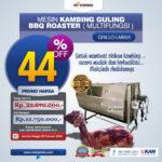 Mesin Kambing Guling Double Location Roaster (GRILLO-LMB55)