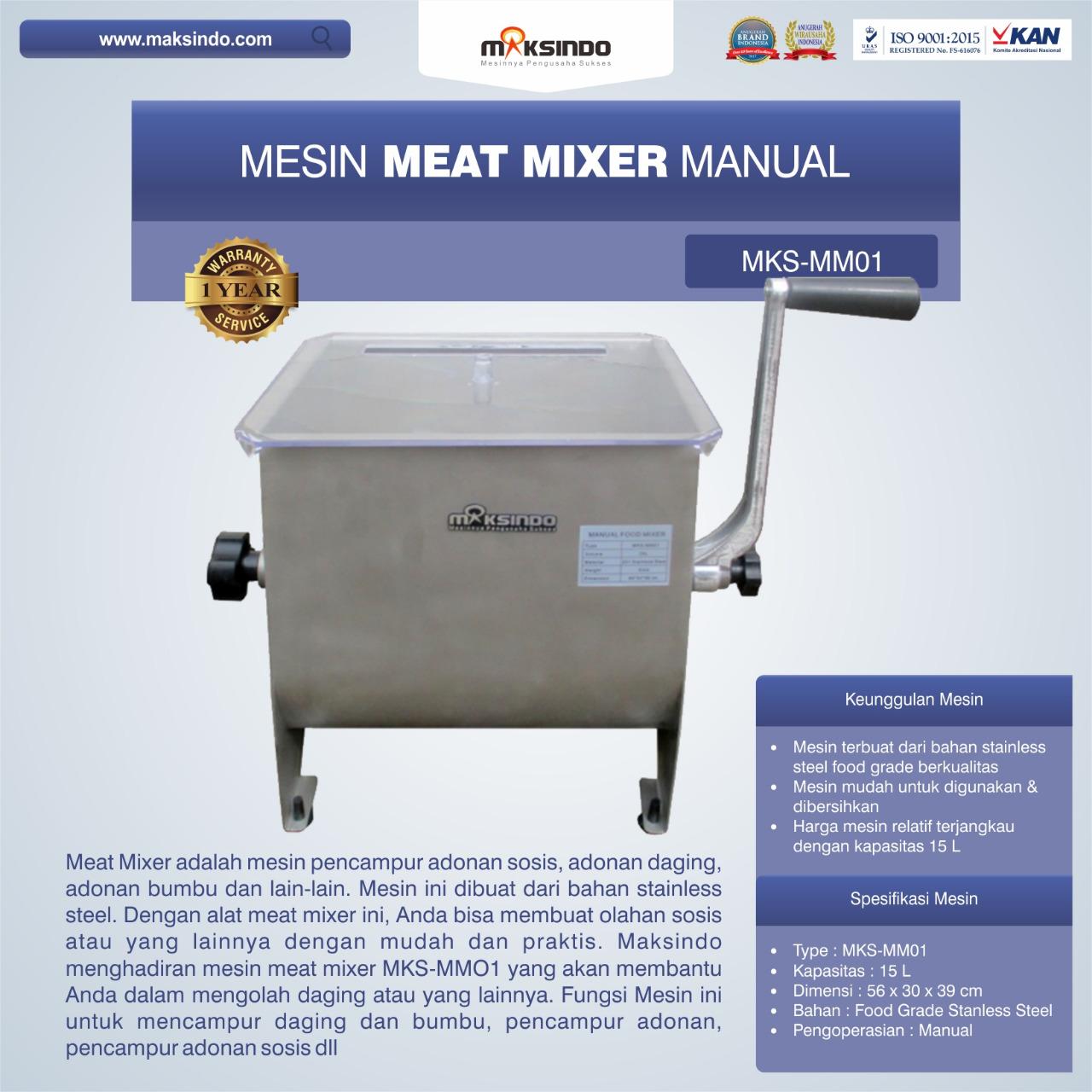 Manual Meat Mixer MKS-MM01