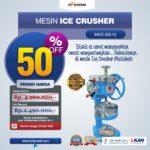 Mesin Ice Crusher MKS-ISE15
