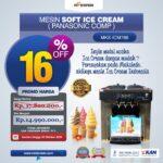 Mesin Soft Ice Cream ICM766 (Panasonic Comp)