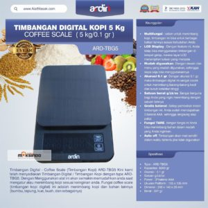 Timbangan Digital Kopi 5 kg ARD-TBG5 (coffee scale)