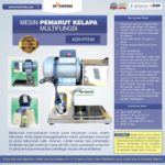 Mesin Pemarut Kelapa Multifungsi PRT-30