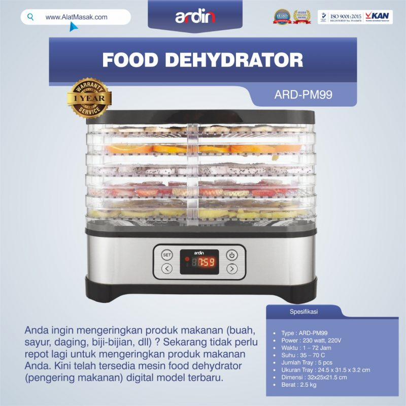 Food Dehydrator ARD-PM99