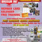 Program Tukar Brosur di Maksindo Bekasi