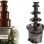 Mesin Chocolate Fountain 4 Tier (MKS-CC4)