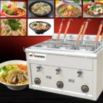 Mesin Pemasak Mie 6 Lubang (Gas, MKS-PC6)