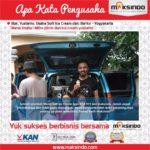 Mitra Piknik dan Ice Cream Yustanto : Produksi Es Krim Makin Cepat Sehingga Konsumen Tak Perlu Antri Panjang