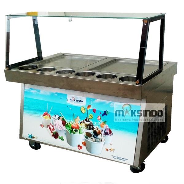 Mesin Roll Fry Ice Cream RIC36x2