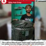 Baby Fish Crisp : Mesin Spiner Bekerja Secara Maksimal
