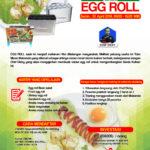Training Usaha Varian Egg Roll, 30 April 2018