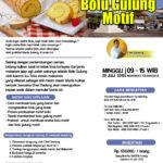 Training Usaha Bolu Gulung Motif, 29 Juli 2018