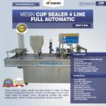 Mesin Cup Sealer 4 Line MKS-CS4L